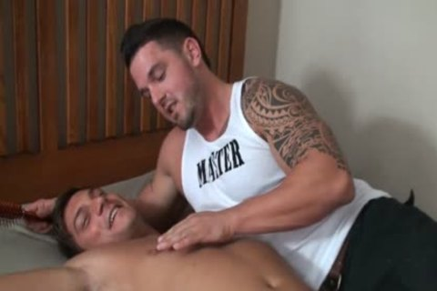nice-looking Bodybuilder bound And Tickled - Marky superlatively worthwhile