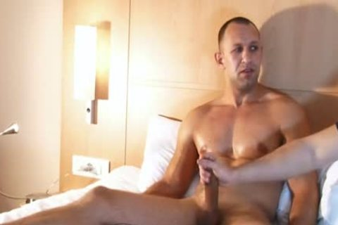 Full clip: A attractive innocent str8 chap Serviced His large knob By A chap